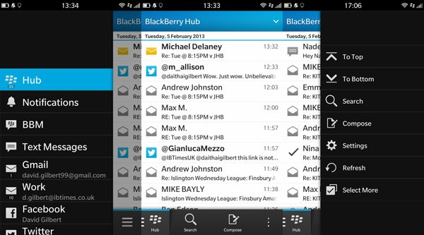 Freelancer's best friend - Blackberry Q10 Review - Web